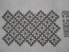Resultado de imagem para blackwork embroidery