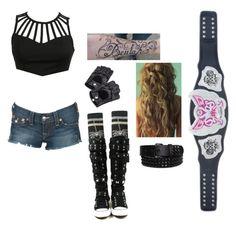 """""""Divas Championship Match"""" by lola-guadalupe-delgado ❤ liked on Polyvore"""