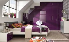 Bedroom Cool Purple Cozy Layout Options Latest Exciting Picture Recent Gallery
