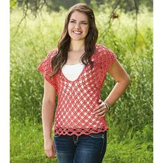 Spring Fever Crochet Top Small (Medium, Large, 1X)