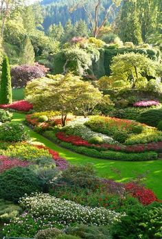 Portrait photo of Butchart Gardens, Vancouver Island Amazing! Portrait photo of Butchart Gardens, Vancouver Island