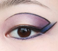 Cut-out eye colour