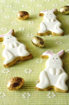 Biscuits lapin de Pâques | I Love Cakes