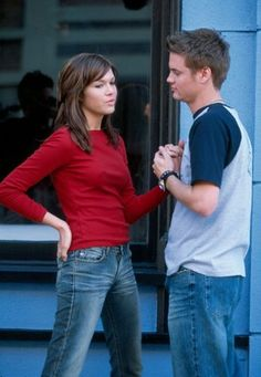"Mandy Moore & Shane West in Mandy's ""Cry"" music video (A Walk to Remember). <3"