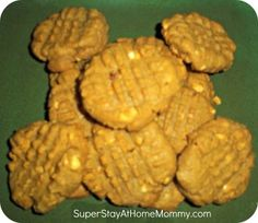 low carb, sugar free, peanut butter cookies