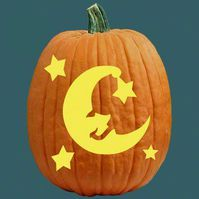 Pumpkin Carving Patterns - Wedding, Baby, and Party Pumpkin Patterns