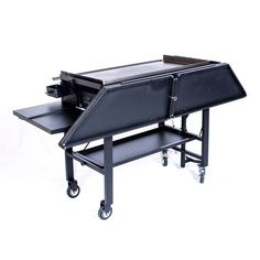 Blackstone Signature Accessories - 36 Inch Griddle Surround Table Accessory - Powder Coated Steel (Grill not Included and Doesn't fit The Griddle with New Rear Grease Model) Table Accessories, Grill Accessories, Kitchen Accessories, Digital Electric Smoker, Blackstone Grill, Cast Iron Griddle, Grill Table, Gas Grill Covers, Convection Cooking