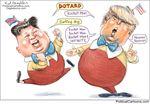 Dotard Barking Dog by Ed Wexler, PoliticalCartoons.com