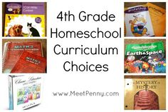 4th grade homeschool curriculum recommendations