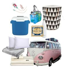 """""""Living in a Van"""" by zmills151 on Polyvore featuring interior, interiors, interior design, home, home decor, interior decorating, ferm LIVING, Lane Crawford, S'well and Kusmi Tea"""
