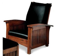 Superieur Craftsman   Morris Chair (Leather). My Grandfather Had One Of These. Wish