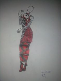 """,, Drawing made by me ."""""""