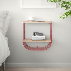 Buy IKEA SVENSHULT Wall shelf w/ storage brown-red, white stained oak effect. Do something fun with your storage. SVENSHULT wall shelf allows you to mount in a variety of ways and create things like creative patterns on the wall. Wall Organization, Wall Storage, Ikea Wall Shelves, Local Hardware Store, Shelving Systems, White Stain, My Living Room, My New Room, Windows