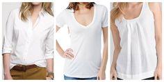 white shirts - Google Search