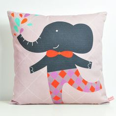 Mr Elephant Cushion