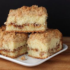 Cookistry: Walnut Streusel Coffee Cake for a Virtual Baby Shower