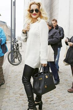 Wow! Rita Ora's style is off the radar - Celebrity Fashion (Glamour.com UK)