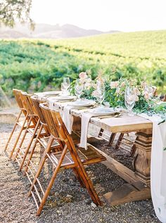 A Dreamy Romantic Winery Editorial at Hammersky Vineyards