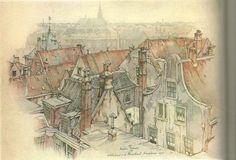 scannen0122Achterkant van de Damstraat Haarlem 1944