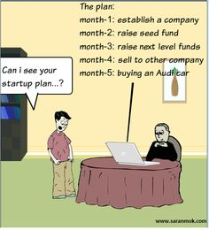 What are the best jokes about entrepreneurship and startups? - Quora