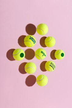 Florent Tanet, TENNIS, BALL, PHOTOGRAPHY, COLOUR, PINK