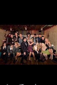 Taylor with the Big Machine family