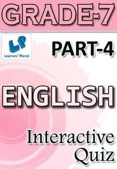29 best interactive ebooks for grade 7 images on pinterest past tense phrasal verbs present tense and types of adjectives for english students pattern of questions multiple choice questions price fandeluxe Choice Image