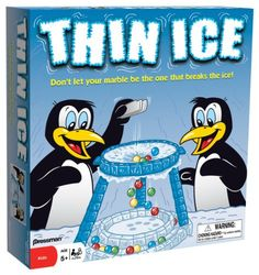 Angry Birds On Thin Ice Game Childrens Toy New Fast Shipping Ice Games, Math Games, Icebreakers For Kids, Games For Kids, Family Game Night, Family Games, Prodigy Math Game, On Thin Ice, Marble Games