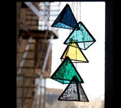 Stained Glass TRI Elements (set of 5) by BespokeGlassTile on Etsy https://www.etsy.com/listing/230364059/stained-glass-tri-elements-set-of-5