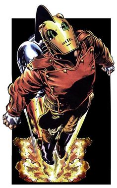 'The Rocketeer' by Dave Stevens