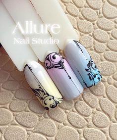 2,657 отметок «Нравится», 23 комментариев — On the nails with love (@allure_nail_studio) в Instagram: «Ближайшие курсы по вензелям в городах ✅ЧЕЛЯБИНСК: -11 октября -12 октября(мест нет) Организатор…»