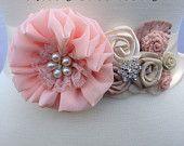 Bridal Sash/ Wedding Sash/ Bridesmaids, Bride, Pink Bridal Sash/ Flower Girl Sash
