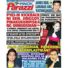 Pinoy Parazzi Vol 8 Issue 21 February 6 – 8, 2015 http://www.pinoyparazzi.com/pinoy-parazzi-vol-8-issue-21-february-6-8-2015/