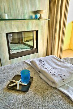 CURE SPA Treatment Room at the Malibu Beach Inn. #Malibu #MalibuBeachInn #oceanfront #spa