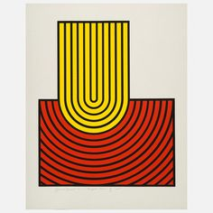 Ripple Form Yellow Red (1969) / by Harold Krisel