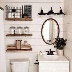 22 Best decorating bathroom shelves images in 2019 ...