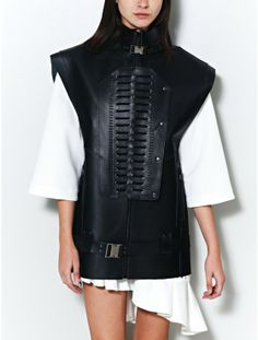 Anne Sofie Madsen wheeljack leather vest