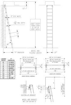 HP80 - 80° Folding Ladder - Alaco Ladder