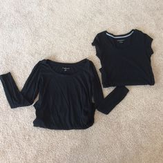 MATERNITY BUNDLE Both are size small from Liz Lange maternity.. Black One long sleeve and one short sleeve Liz Lange Tops