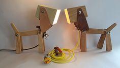 beagle dog lamp