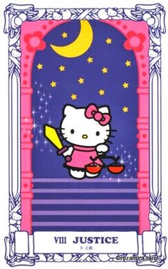 hello kitty tarot - justice