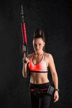 Girls with Guns 💙💚💛💟💖💗💜❤
