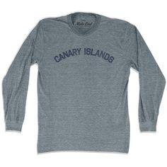 Canary Islands City Vintage Long Sleeve T-shirt