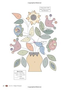 My Enchanted Garden: Appliqué Quilts in Cotton and Wool: Gretchen Gibbons: 9781604682519: Amazon.com: Books