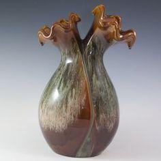 Ceramic Floral Vase : Lot 37 Unknown origin.
