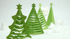 How to Make Christmas Tree in 5 Min. at Home with Origami Paper & Scissior Only , How to Make Christmas Tree in 5 Min. at Home with Origami Paper & Scissior Only. DIY Christmas Tree Craft - Learn to make Christmas tree at home from . Christmas Tree Paper Craft, Homemade Christmas Crafts, How To Make Christmas Tree, Handmade Christmas Tree, Christmas Origami, Christmas Tree Crafts, Handmade Christmas Decorations, Christmas Ornaments, Homemade Decorations