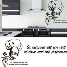 Apply this La Cuisine Sticker in any flat surface. If you are looking for a piece of art, La Cuisine Sticker is the perfect choice. Kitchen Stickers, Art Pieces, Home Decor, Kitchens, Decoration Home, Room Decor, Artworks, Art Work, Home Interior Design