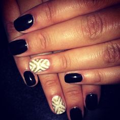 Gel Manicure Design #NailsByEm