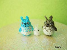 Micro Woodland Totoro and Friends Mini Tiny Dollhouse by SuAmi