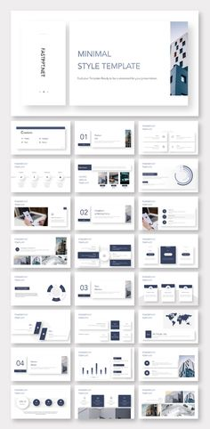 World wide web - Design Clean Magazine Style Business Presentation Template – Original and high qual Business Web Design, Clean Web Design, Graphisches Design, Layout Design, Design Room, Icon Design, Business Ppt, Graphic Design, Simple Powerpoint Templates